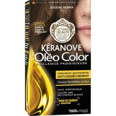 Стойкая Краска без Аммиака 7*35 Каштан ОреховыйОлеоколор Oleo Color
